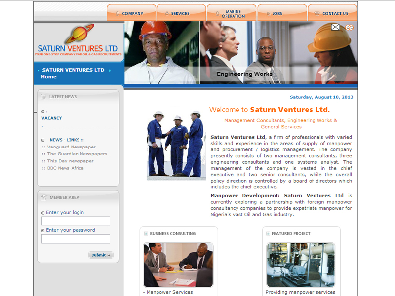 Saturn Ventures Nigeria Ltd.